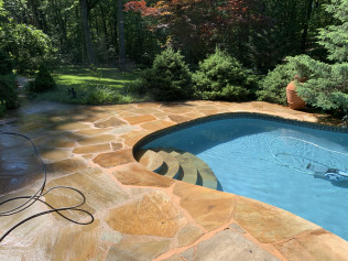 Clean Pool Deck